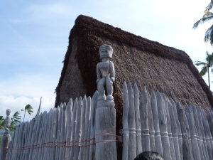 Heiau or the sacred temple.