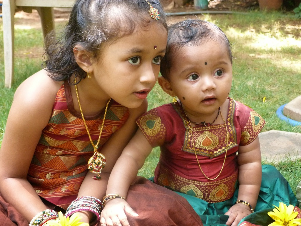 Medha and Shristi, sisters sharing gossip about their naughty bro!