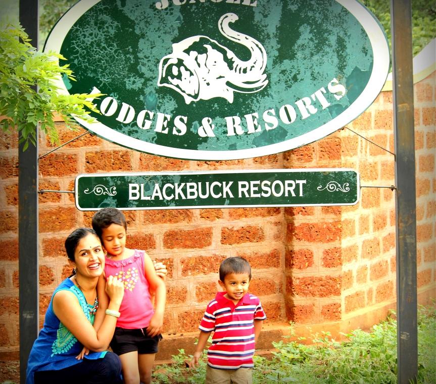 Blackbuck entrance