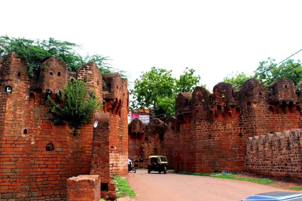 Way to the Bidar Fort
