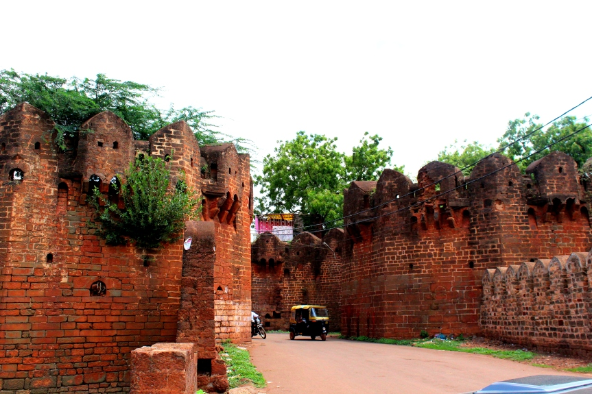 Way to the Bidar Fort