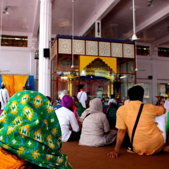 Inside the Gurudwar