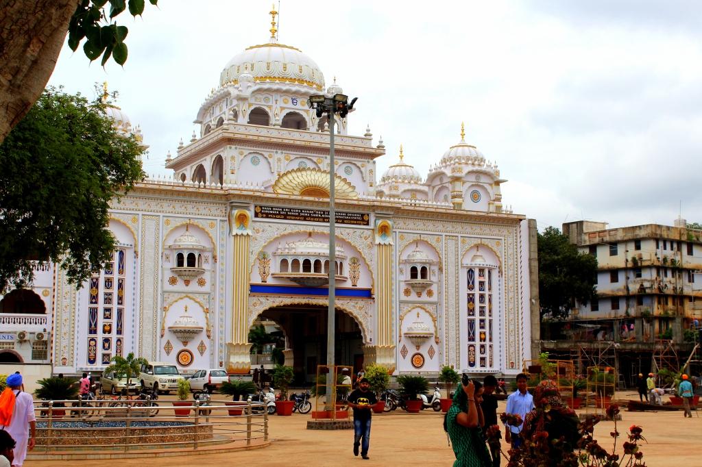 Entrance to the Gurudwar
