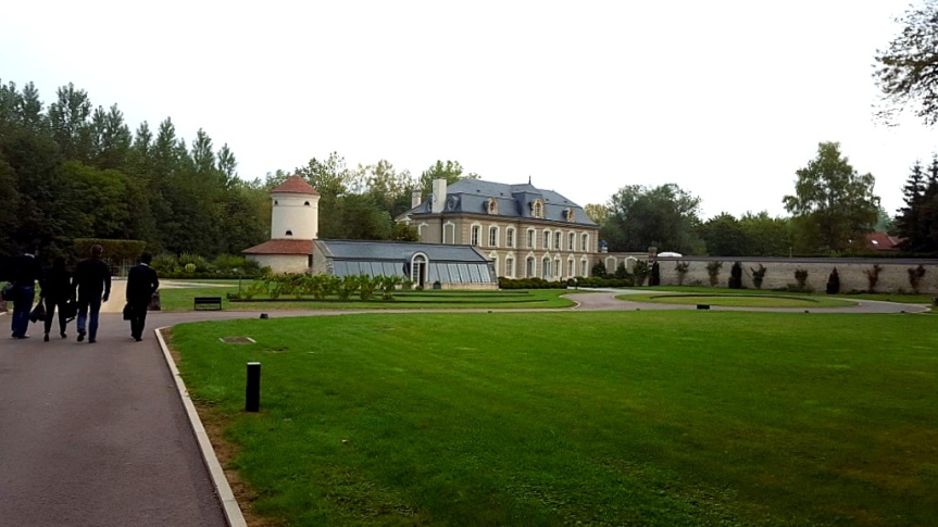 Manor at the Domaine de Villeneuve