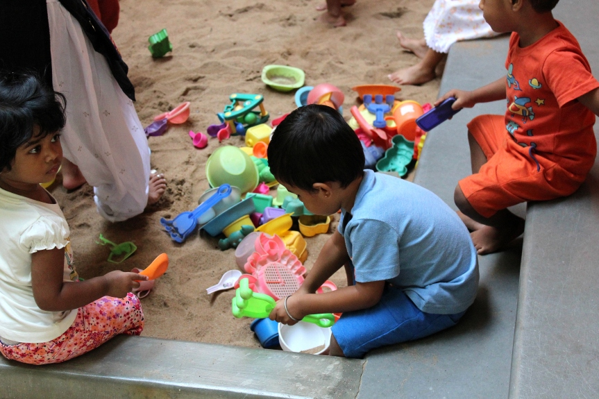Fun at Sand pit
