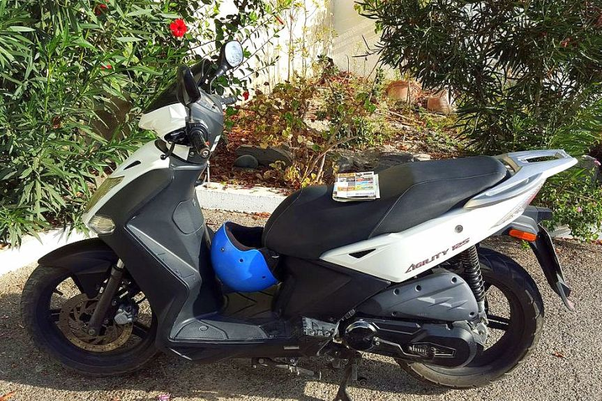our scooter
