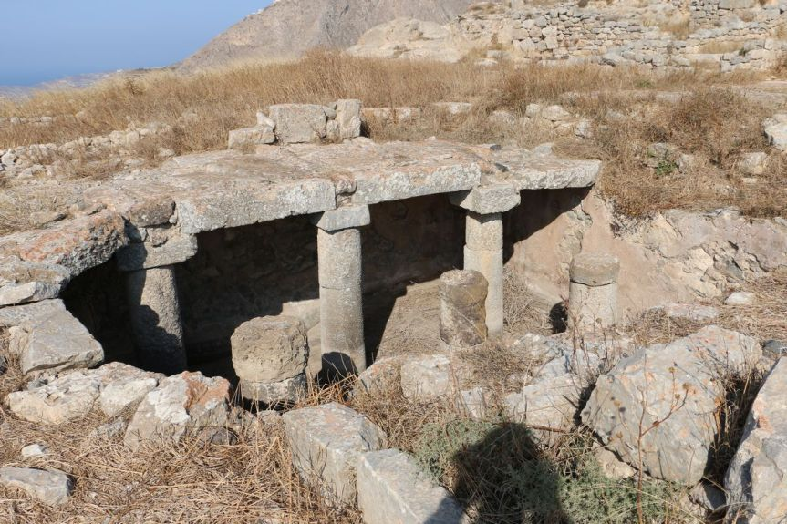 Ruins at Ancient Thera