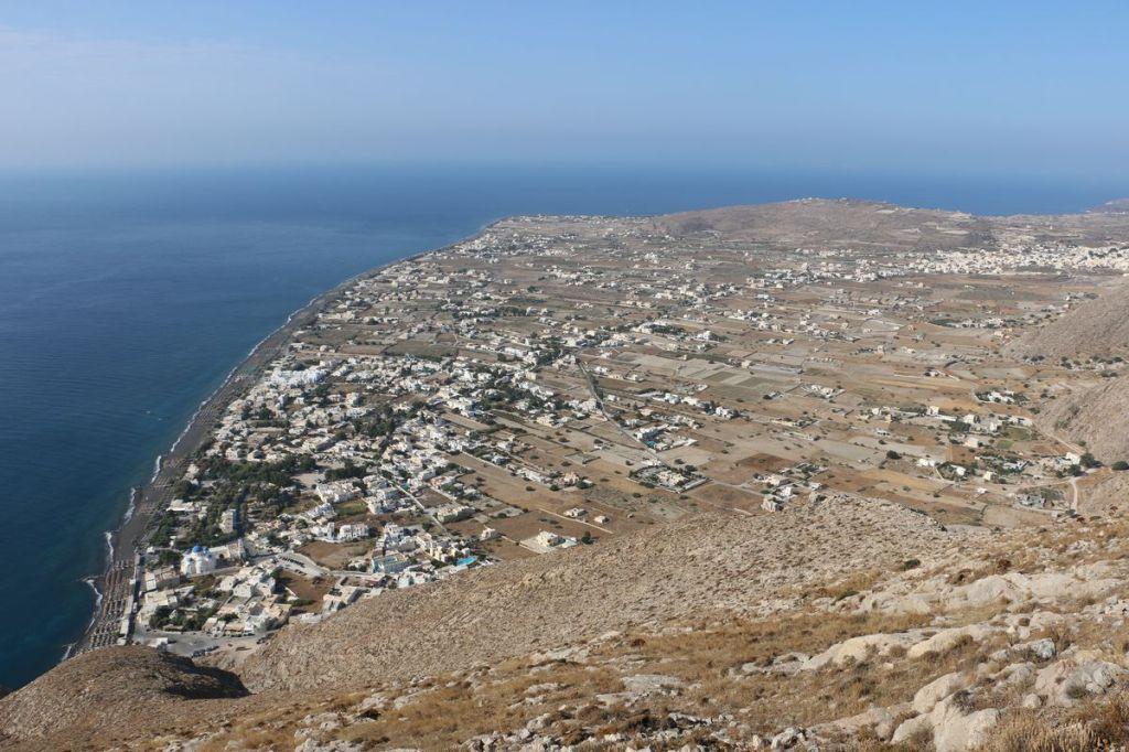 View from ancient Thera