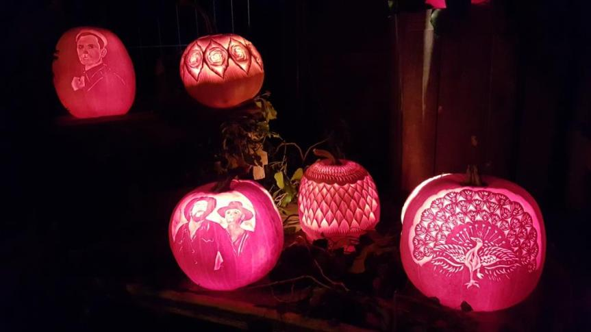 Pumpkin Lighting 4