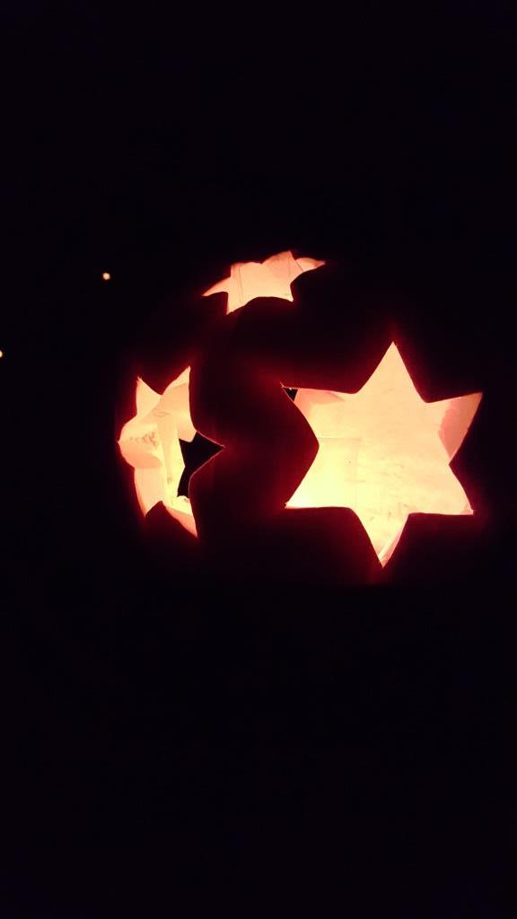 Pumpkin lighting show
