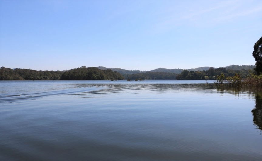 Boating at Periyar National Park