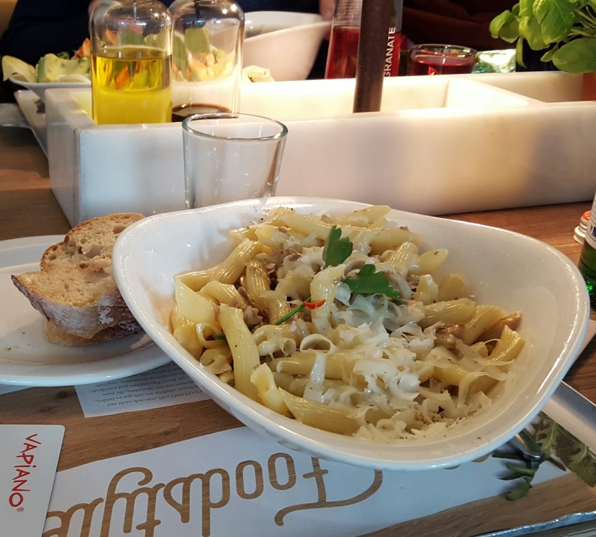 Vapiano lunch