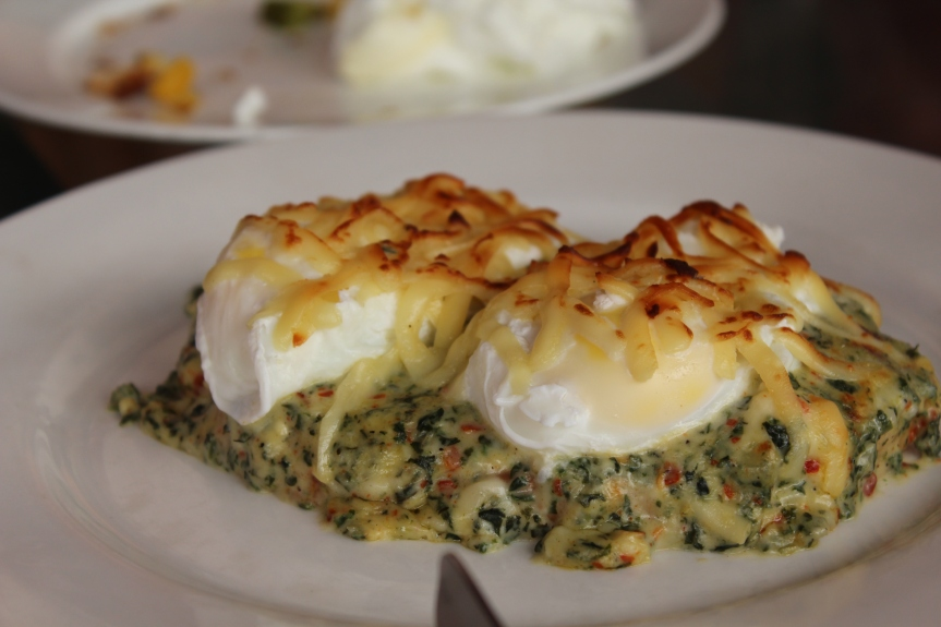 Egg Florentine @Thinespo