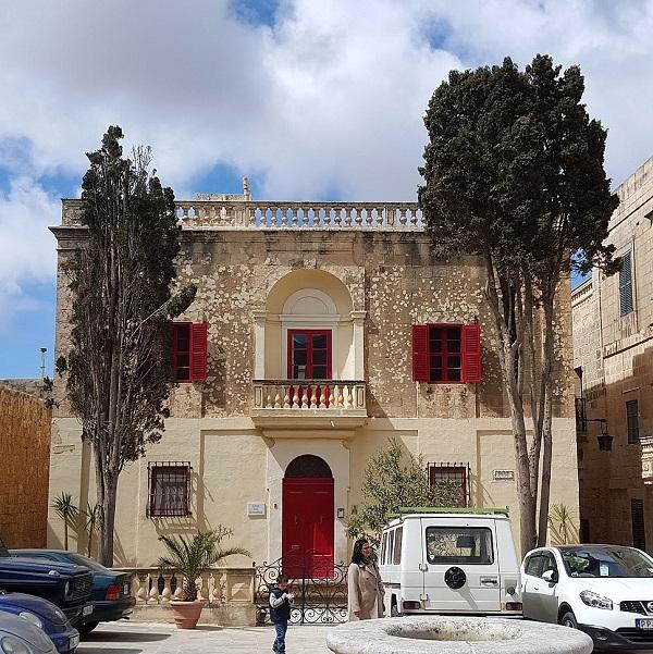Limestone building of Malta