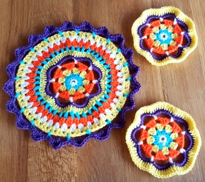Set of 3 Mandalas