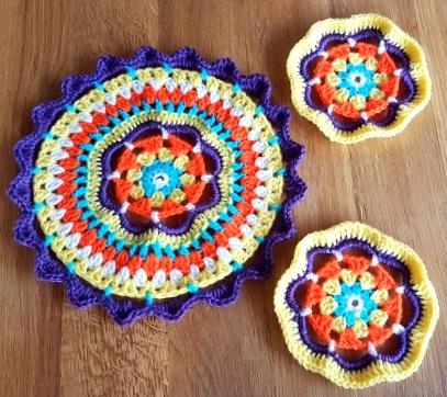Set of 3 Mandalas