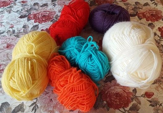 Wool- Mandala